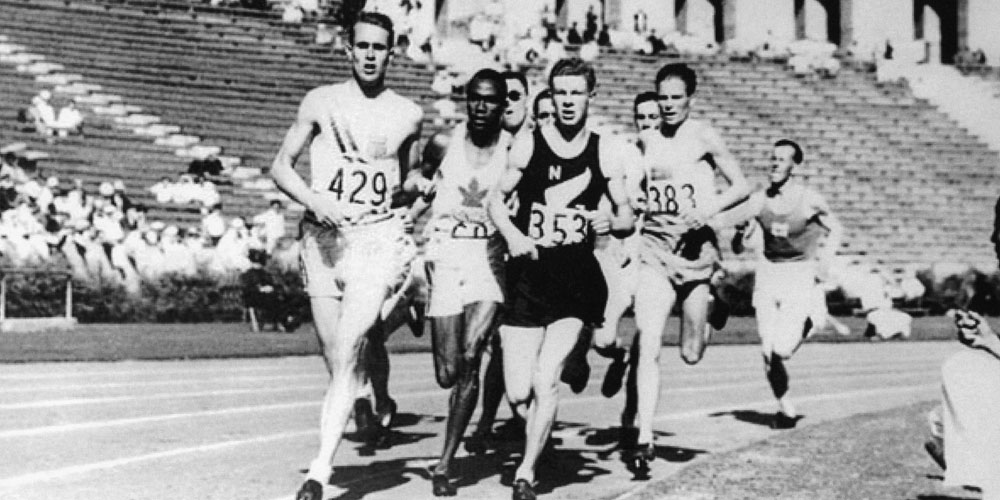 Lovelock, 1500m final in 1932